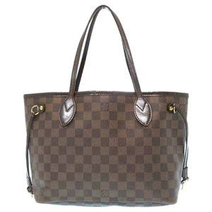 Auth Louis Vuitton Neverfull Pm Tote #8128L38